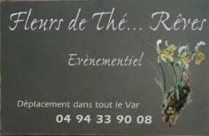 Fleurs de thé ... Rêves, partenaire Jean-Luc Planat photographe de mariage