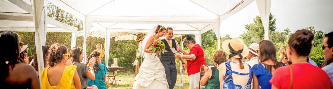 Mariage franco Anglais au Domaine de la Roquette